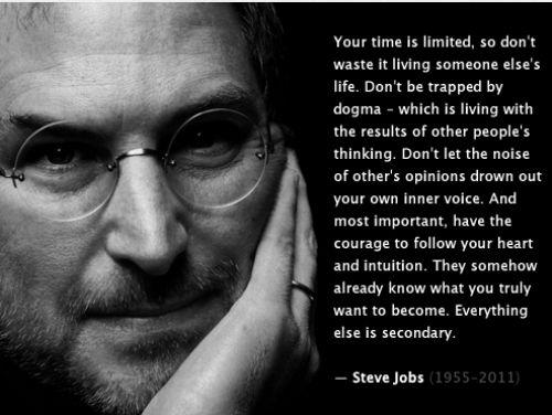 Стив Джобс – 10 уроков жизни