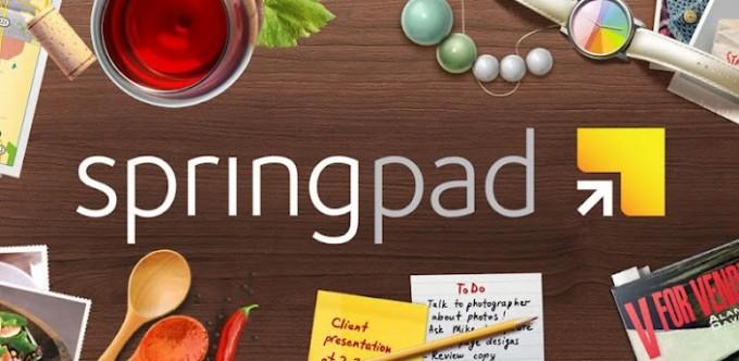 Отличная альтернатива Evernote — встречаем яркий и удобный Springpad!
