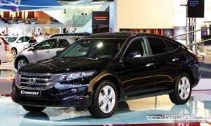 Honda объявила цены и начало продаж на модель Crosstour