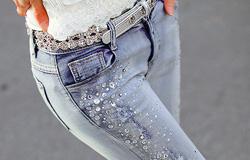 Оборудование для изготовления одежды из джинсовых тканей