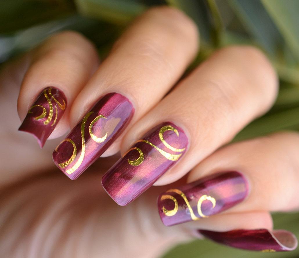 Как сделать рисунки на ногтях |Блог о ...: hacklive.ru/kak-sdelat-risunki-na-nogtyax