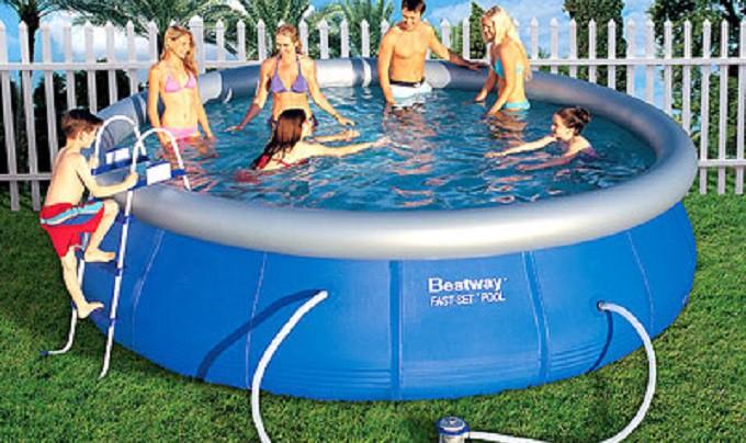 Преимущества надувных бассейнов