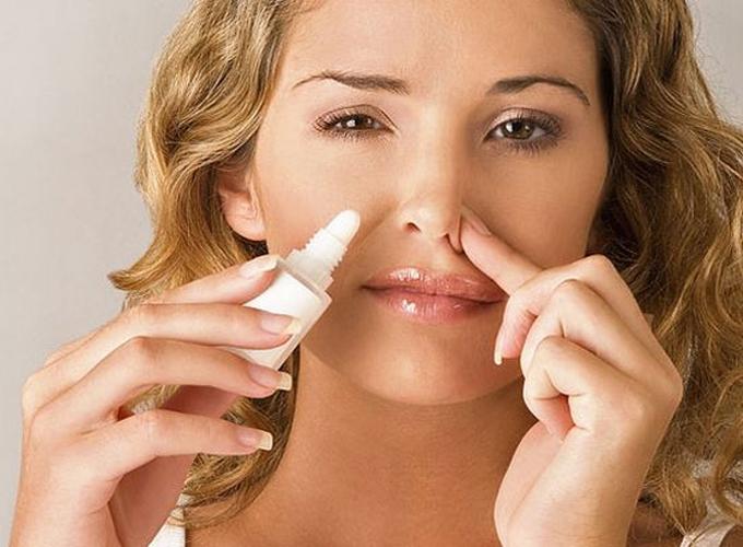 Использование капель для носа