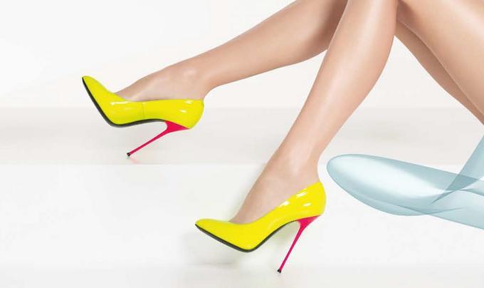 Модные женские туфли на шпильке