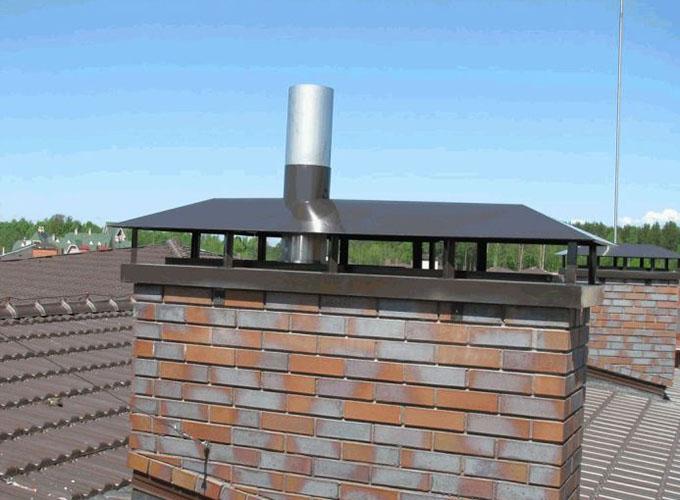 Устанавливаем дымоход из нержавеющей стали