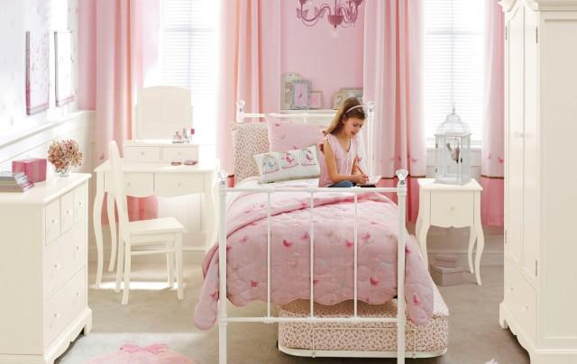 Оформление комнаты детской комнаты для девочки