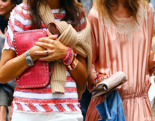 Весенние тенденции европейской моды