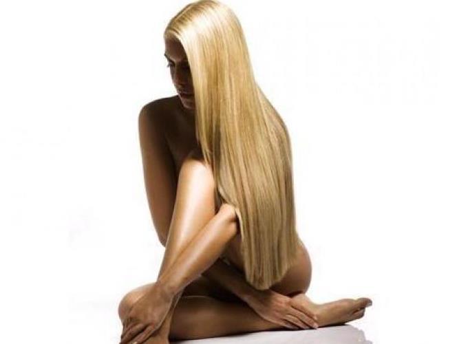 Длинные волосы в домашних условиях