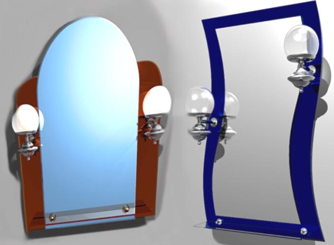 Как выбрать и где купить зеркало для ванной