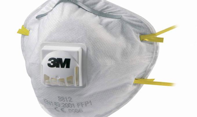Противопылевой респиратор 3м