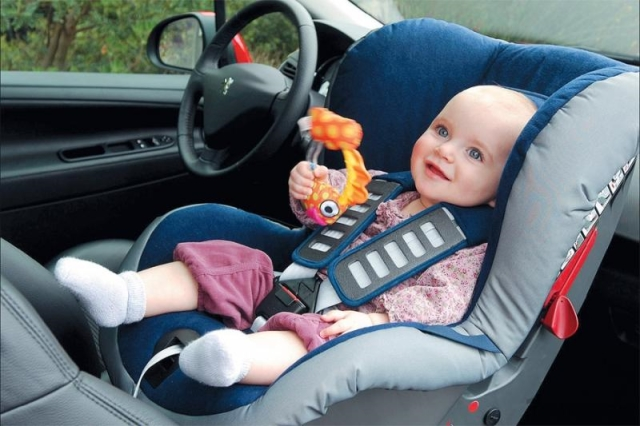 Обустройство места для ребенка в автомобиле
