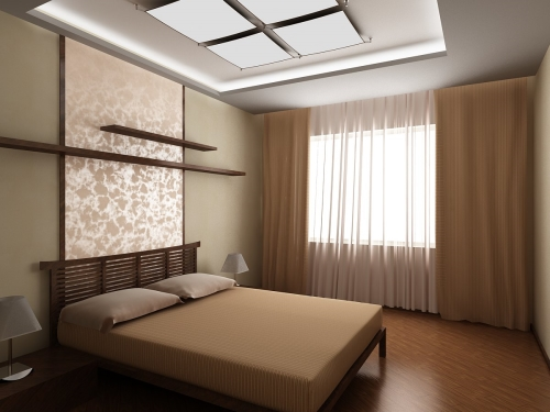 Простые решения при организации спальни
