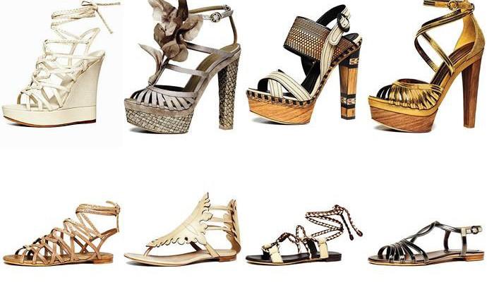Летняя обувь: критерии выбора