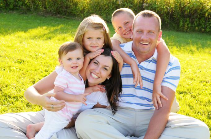 Семья и дом как одно целое