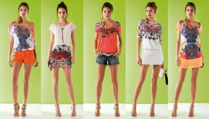 Мода лето 2014. Блузка или рубашка? Цветовая гамма