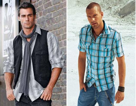 Модные рекомендации для худых мужчин