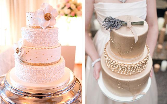 Изящный аксессуар на свадебный торт