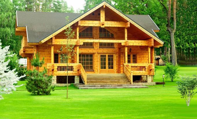Деревянный дом от terem-pro.ru