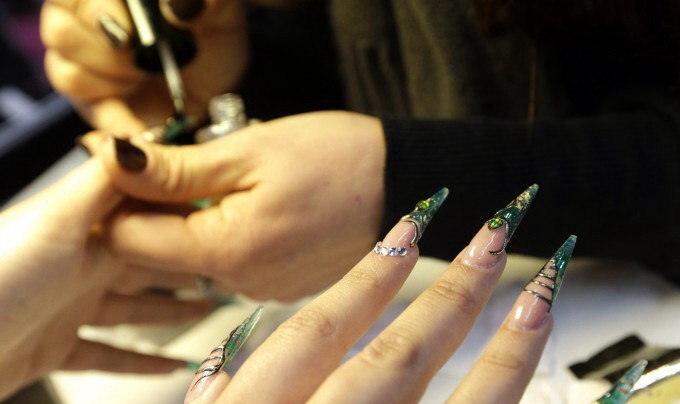 Набор для наращивания ногтей для начищающих