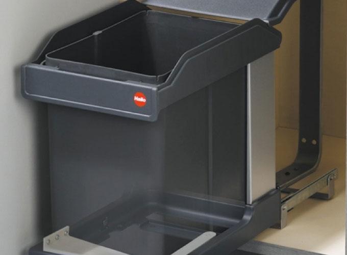 Выбор мусорного ведра для кухни