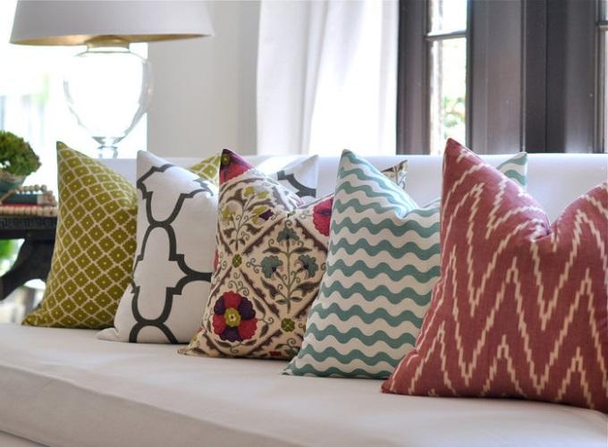 Домашний текстиль в интерьере