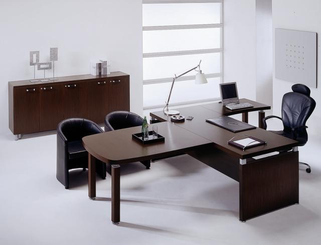 Совмещаем цвет шпона декоративных панелей и офисной мебели