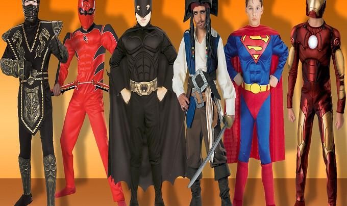 Как подобрать костюм супергероя