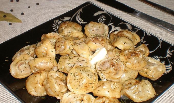 Рецепт приготовления пельменей со свининой