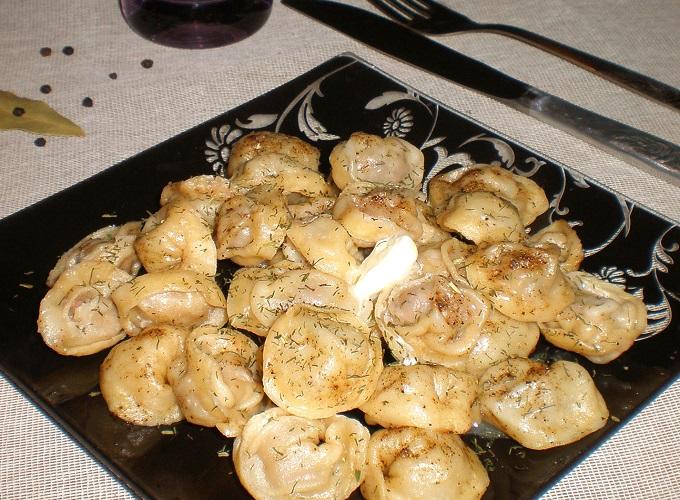 Рецепт приготовления свинных пельменей