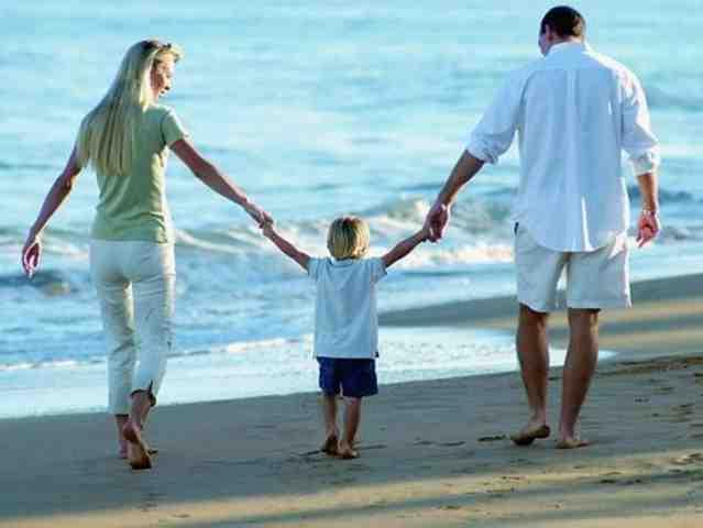 Семейные отношения. Совместный отпуск