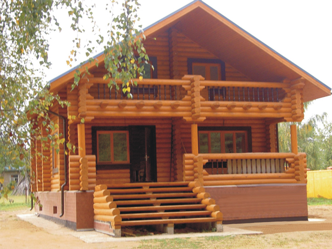 Деревянные дома от v-les.com