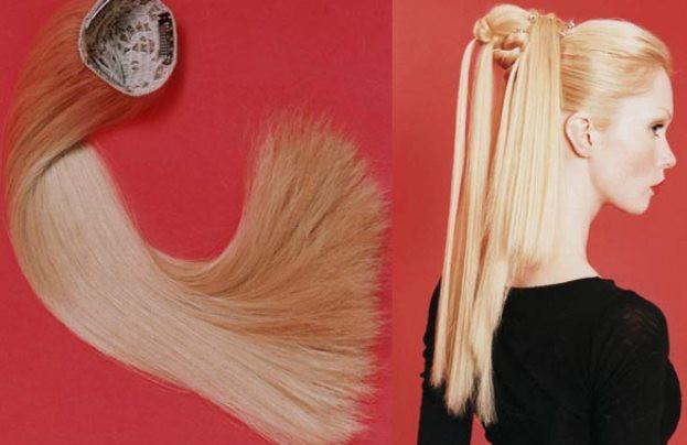 Шиньоны из натуральных волос от darly.ru