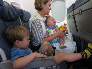 Пушетествие с ребенком на самолете