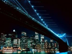 Фотообои ночных городов