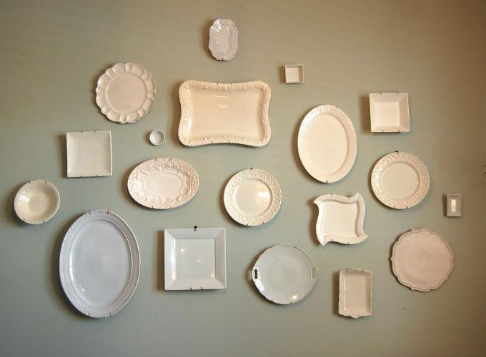 Украшение жилища при помощи декоративных тарелок