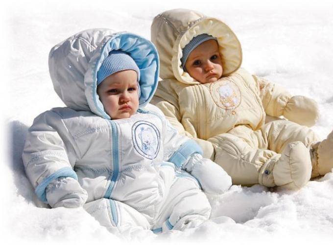 Детский комбинезон: тепло и удобно