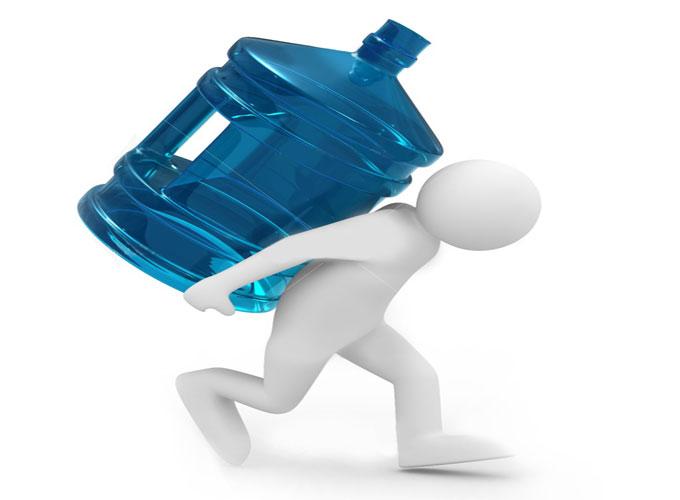 Особенности доставки воды на дом и в офис